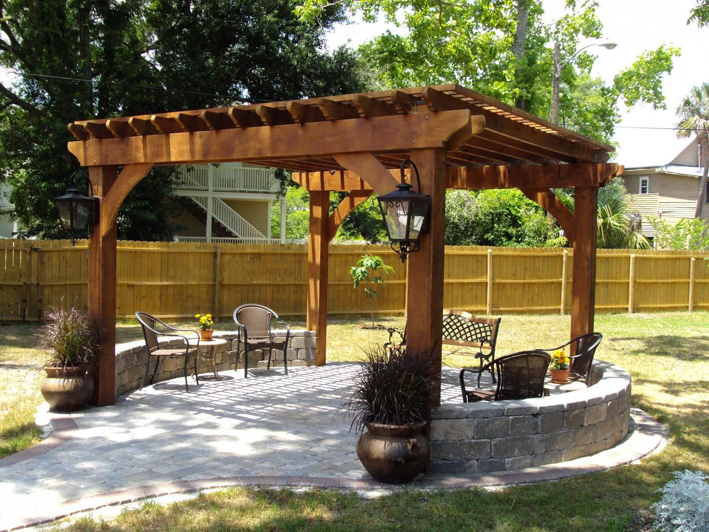 Outdoor Pergolas-El Paso TX Landscape Designs & Outdoor Living Areas-We offer Landscape Design, Outdoor Patios & Pergolas, Outdoor Living Spaces, Stonescapes, Residential & Commercial Landscaping, Irrigation Installation & Repairs, Drainage Systems, Landscape Lighting, Outdoor Living Spaces, Tree Service, Lawn Service, and more.