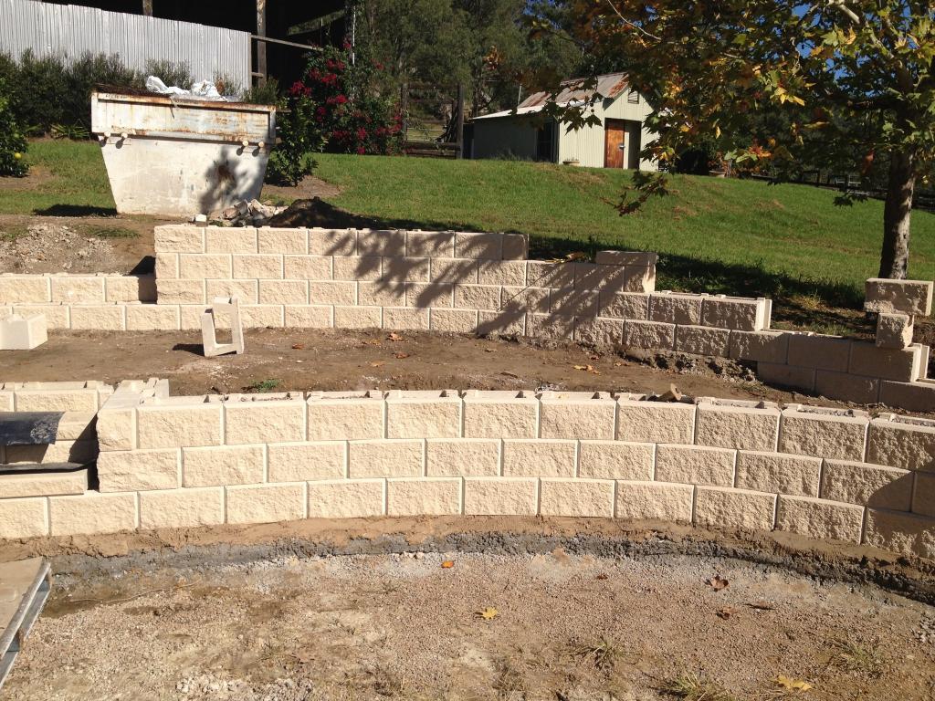 Retaining Retention Walls El Paso Tx Landscape Designs Outdoor Living Areas